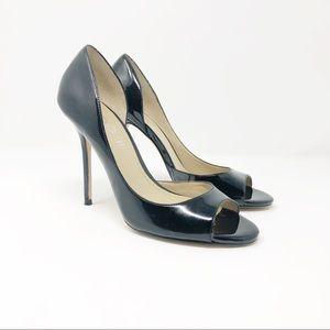 Aldo Hersey Patent Leather Peeptoe Stilettos